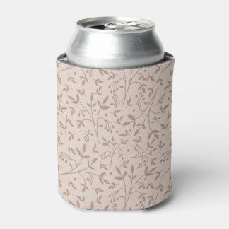 Beige pattern can cooler