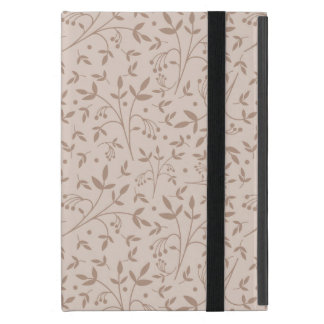 Beige pattern cover for iPad mini