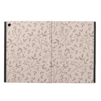 Beige pattern iPad air covers