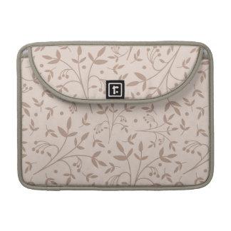 Beige pattern sleeve for MacBook pro
