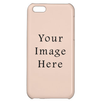 Beige Peach Pink Color Trend Blank Template iPhone 5C Cover