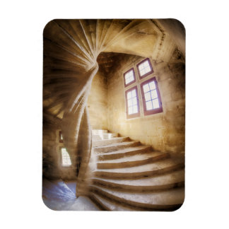 Beige spirl staircase, France Magnet