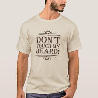 "beige T-shirt ""Beard Pride """