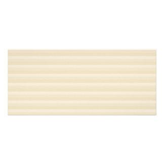 Beige Tan Color Stripe Pattern Rack Card Template