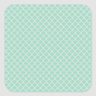 Beige White Sixties Scales Pattern Stickers