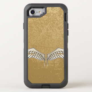 Beige wings OtterBox defender iPhone 8/7 case