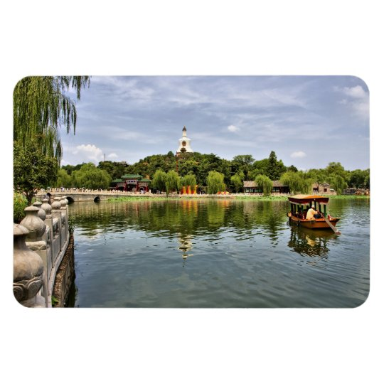 Beihai Park Rectangular Photo Magnet