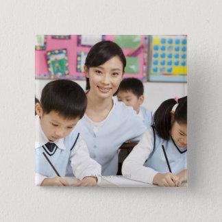Beijing,China 2 15 Cm Square Badge