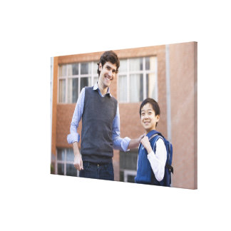 Beijing,China 3 Gallery Wrap Canvas