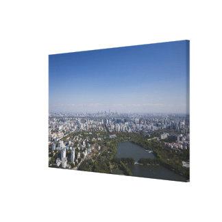 Beijing Cityscape Canvas Prints