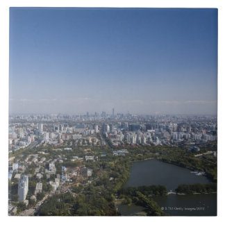 Beijing Cityscape Large Square Tile