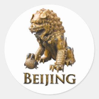 BEIJING Lion Stickers