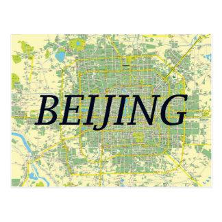 Beijing map card