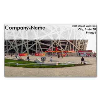 Beijing National Olympic Stadium Magnetic Business Cards