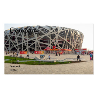 Beijing National Olympic Stadium Pack Of Standard Business Cards