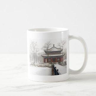 Beijing old Summer Palace Basic White Mug