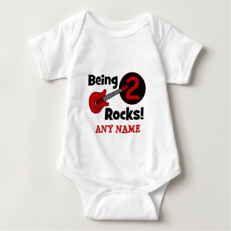 Being 2 Rocks! with Guitar Baby Bodysuit