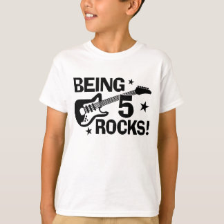 Being 5 Rocks T-Shirt