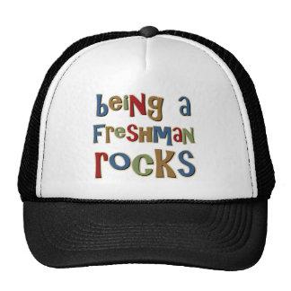 Being A Freshman Rocks Trucker Hat