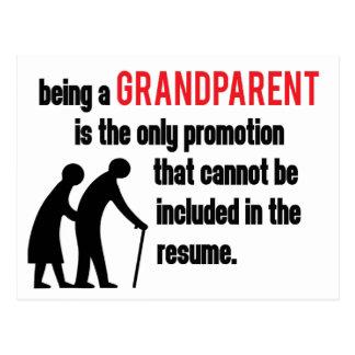 Being a Grandparent Postcard