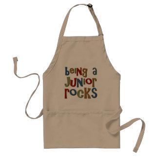 Being A Junior Rocks Standard Apron