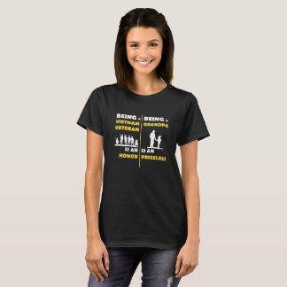 Being A Vietnam Veteram Is An Honor Being T-Shirt