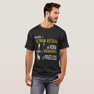 Being A Vietnam Veteram Is An Honor T-Shirt