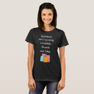 Being an Adult Sucks Shopping Helps Shopaholic T-Shirt