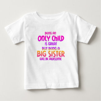 Being an Only Child is Great, Purple T-shirt