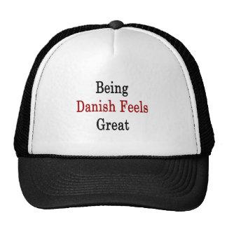 Being Danish Feels Great Cap