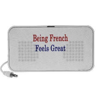 Being French Feels Great Travel Speaker