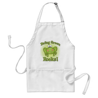 Being Green Rocks Standard Apron