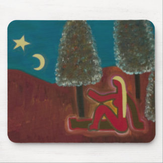 Being in Scotland With my Thoughts 2009 Mouse Mat