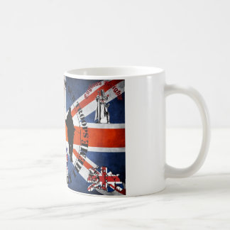 Being located in front OF our Troops Basic White Mug