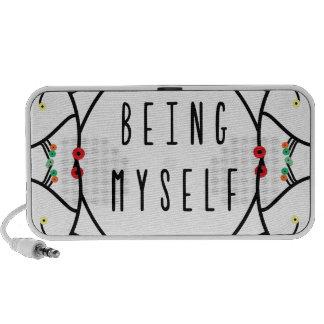 Being myself notebook speaker