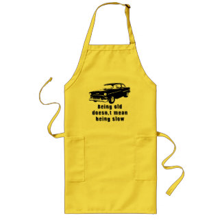 Being old long apron