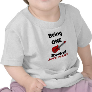 Being One Rocks with Guitar Shirt or
