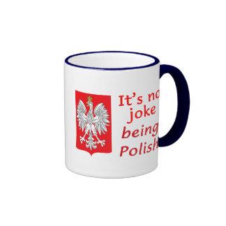 Being Polish Ringer Coffee Mug