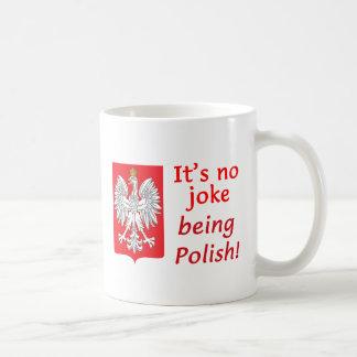 Being Polish Classic White Coffee Mug