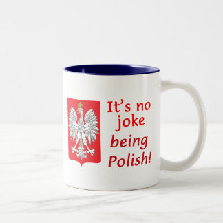 Being Polish Two-Tone Coffee Mug