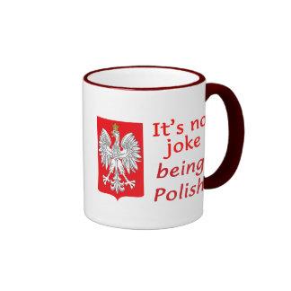 Being Polish Ringer Mug
