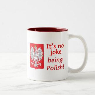 Being Polish Two-Tone Mug