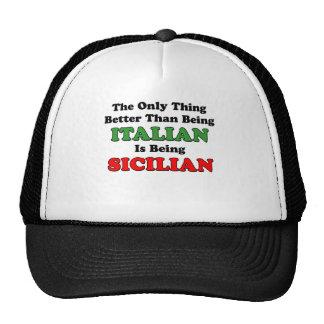 Being Sicilian Cap
