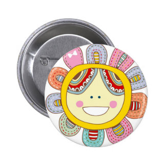 Being So Happy 6 Cm Round Badge