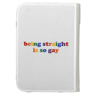 Being Straight Case For Kindle