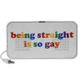 Being Straight... Travelling Speakers