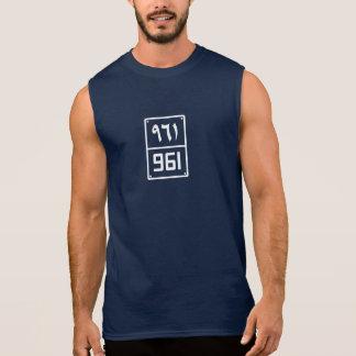 Beirut's Digit #961 Sleeveless for Men Sleeveless Shirt