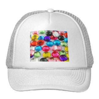 Bejeweled Bevy Of Beaded Buttons Trucker Hats