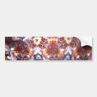 Bejeweled Kaleidescope for April Bumper Sticker
