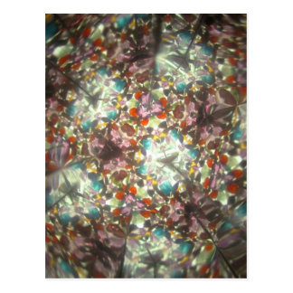 Bejeweled Kaleidescope for February Postcards